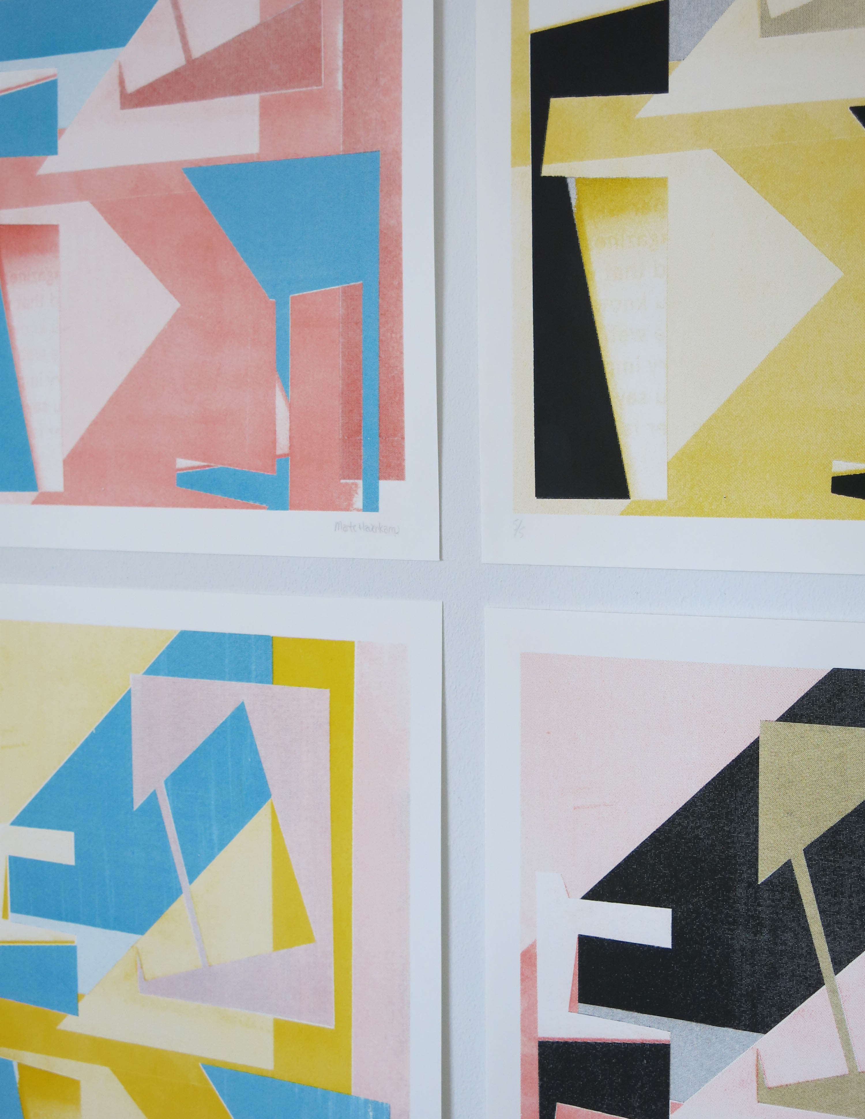 URBAN VIEW – SCREENPRINTS