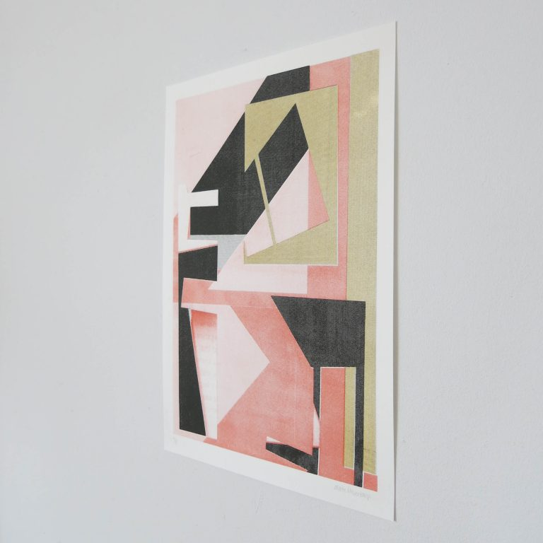 Screenprint Marte haverkamp