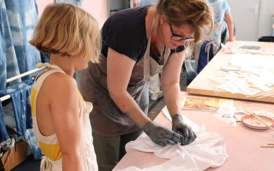 SHIBORI KINDERWORKSHOP
